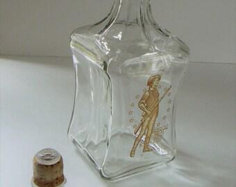 Old Fitzgerald Collection Liquor Bottle, Old Fitzgerald Liquor Decanter, Original Stopper, Gift for Him, Gift for Her, Vintage Decanter