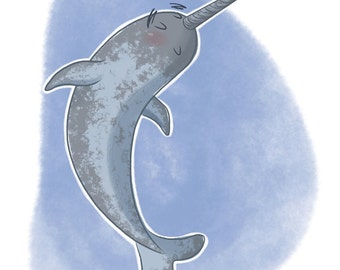 Curiosities of the Sea: Narwhal