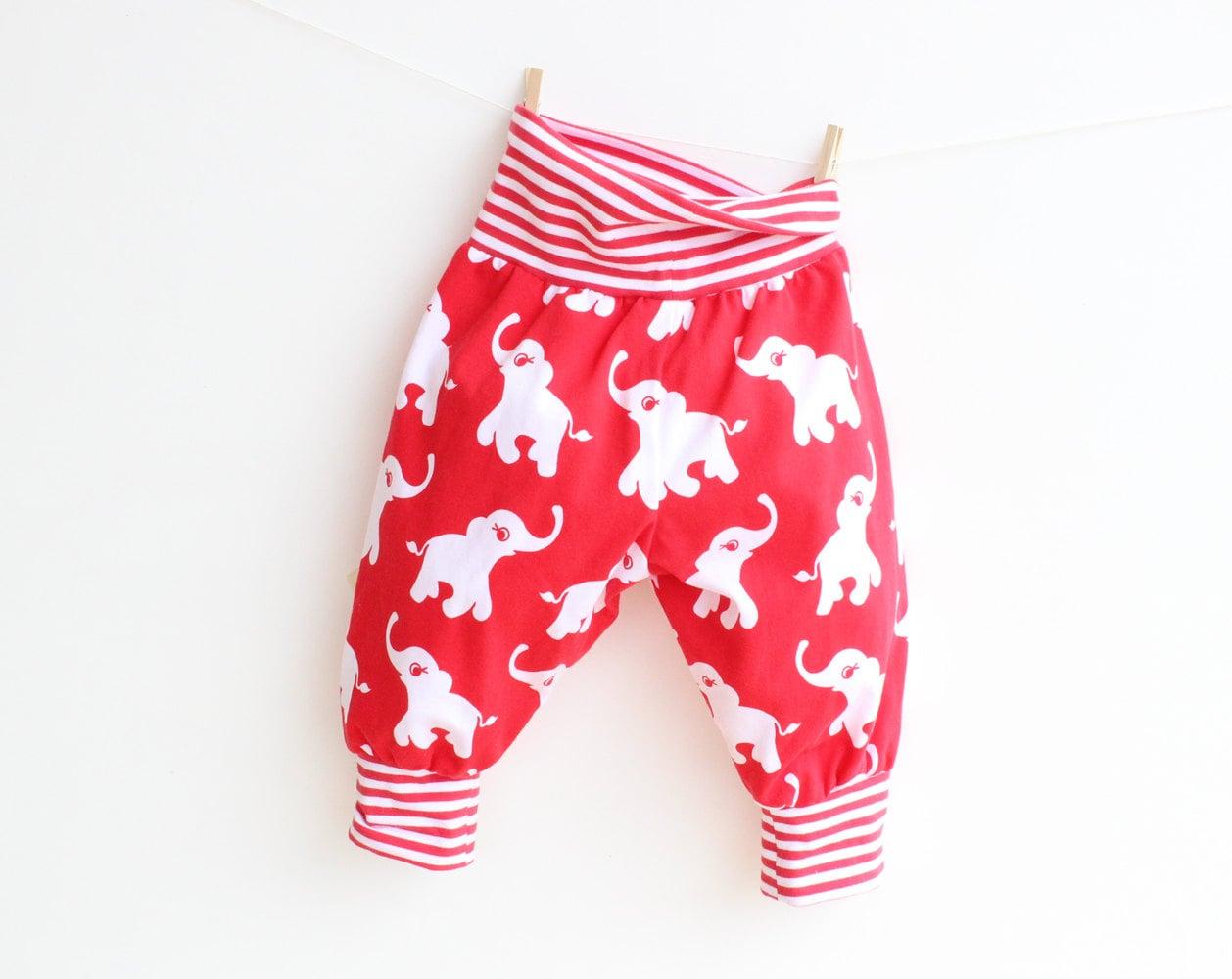 Jungle baby boy girl harem pants sewing pattern pdf knit zoom jeuxipadfo Image collections
