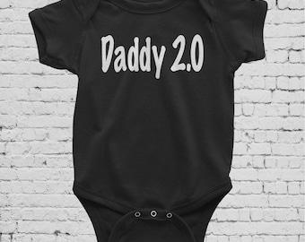 Daddy 2.0 baby bodysuit,
