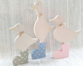 Puddle Duck Family with Wellies  kitchen accessory