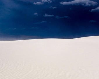 White Sands Abstract