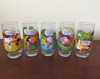McDonald's Camp Snoopy Drinking Glass Collection