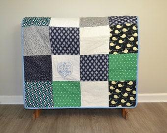 Adventure Quilt, Toddler Quilt