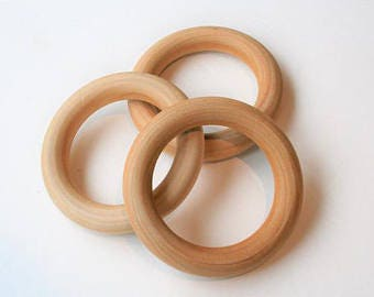 REPLACEMENT/Additional Wood Teething Ring