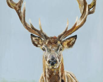 Grande - Limited Edition Art Print A2 Stag