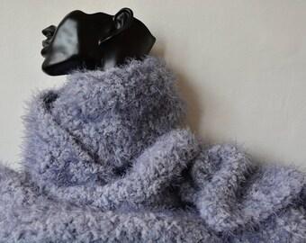 Super soft fluffy scarf