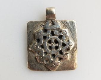 Ethiopian pendant, Coptic Cross pendant, Ethiopian Coptic Cross, Ethiopian Cross, silver pendant