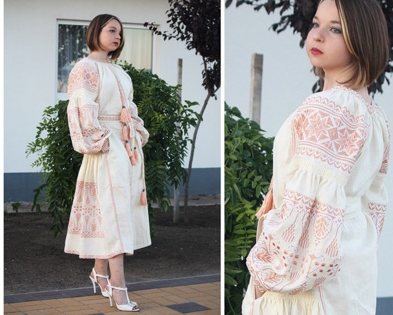 dress Bohemian abaya boho Dubai Clothing dress maxi Ukrainian Wedding vyshyvanka kaftan embroidery dresses Ukraine Ukrainian Embroidered wgxnSycP6A