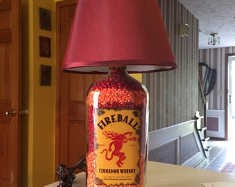 Fireball lamp