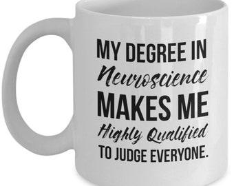 Neuroscience Gift, Neuroscientist Mug, Neuroscientist Gift, Gift For Neuroscientist, Neuroscience Graduation, Neuroscience Degree