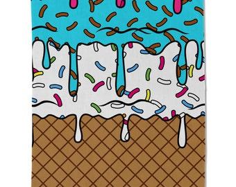 Ice Cream Cone Towel