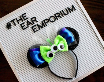 Green Aliens Inspired Mouse Ears Headband Toy Story