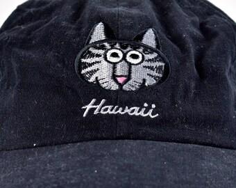 Kliban Hawaii Cat Cap