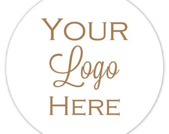 Custom Logo Labels, Custom Business Stickers, Logo Stickers, Your Logo, Your Image, Etsy Shop Stickers - Personalized for YOU