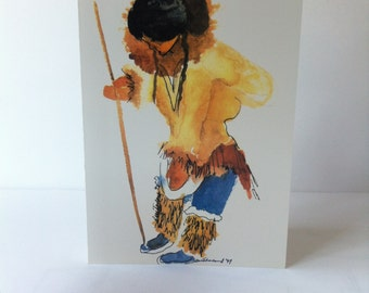 Greeting Card – Sharon E. Sutherland – Print – Northern Hunter