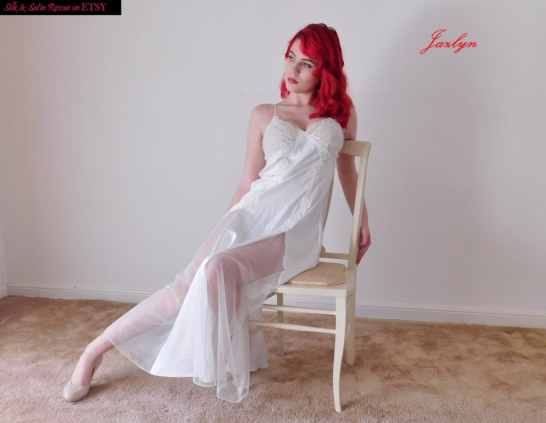 victoria's secret bridal white satin chiffon and lace
