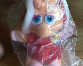 McDonald's Baby Miss Piggy Plush in Wrapping
