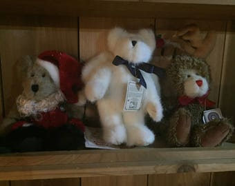Christmas collection Boyds Bears lot