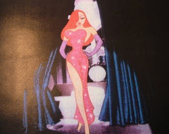 Who Framed Roger Rabit Signed Xerograph Animation Cel 1993 11 by 17 framed memorabilia - Disney studios signed by Gary K Wolf creator