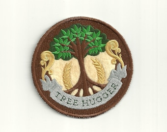 Tree Hugger Merit Badge, Patch! Custom Made!