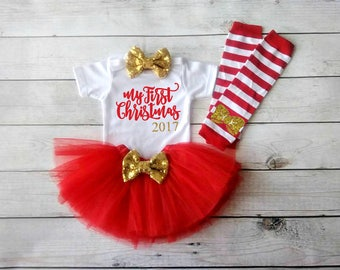 baby girl christmas outfit my first christmas outfit christmas bodysuit personalized christmas baby newborn christmas christmas outfit