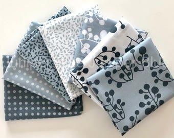 FAT QUARTER Bundle- Lemmikki Collection, Lotta Jansdotter, Windham Fabrics, Quilting Weight Cotton, 7 Prints
