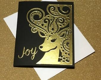A Reindeer Christmas Card
