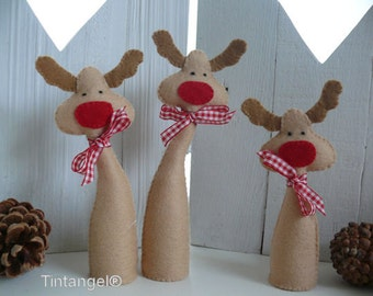 Ho Ho Ho Reindeer - PDF pattern - download