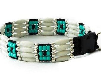 Cheyenne  Beaded Dog Collar