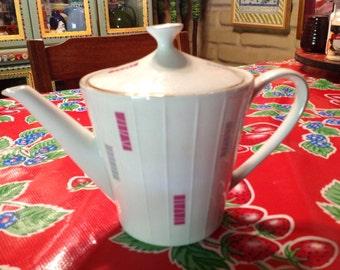 Mid century modern teapot- Zeh Scherzer, Bavaria, Germany