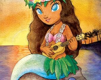 Tahitian Mermaid