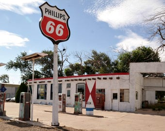 Phillips 66 Station Route 66