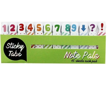 Note Sticky Tabs, Memo pads, notepad
