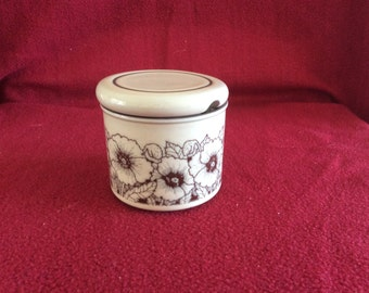 Hornsea Cornrose Jam or Jelly Pot