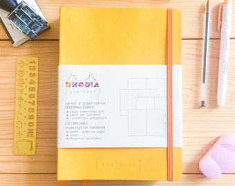 Notebook with Grid 5x5, brand: Rhodia Goalbook. Perfect for your Bullet Journal