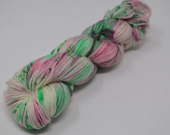 Joxer dk, hand dyed yarn, mcn, singles, bfl, handdyed sport yarn, hand dyed dk yarn, handdyed DK yarn, DK yarn, Sprout