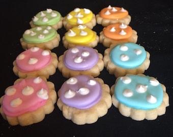 1 Dozen Bite Size Sugar Cookies Sample Cookies