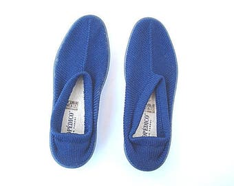 Blue Shoes, Slip on Shoes, Knitted, Casual Wear, Traveling Shoes,Leisure, Summer Wear, Beach Shoes, Comfortable Shoes,Elio Parodi,Arcopedico