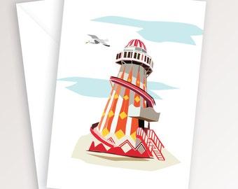 Helter Skelter Print Card
