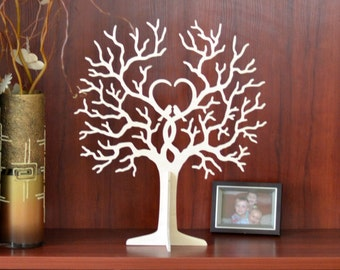 Wedding Wishing Wooden Tree, Guest Book, Tags, Baby Shower, Wishing Tree, Baptism, First Holy Communion