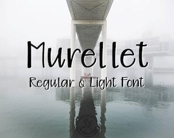 Murellet | A Modern Handwritten Typeface