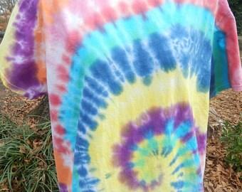 homemade tye dye shirt
