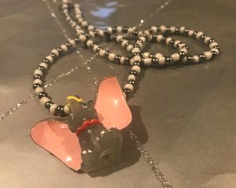 Dumbo beaded necklace