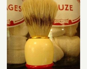 ONSALE Vintage Shaving Brush Natural Boar Great Condition