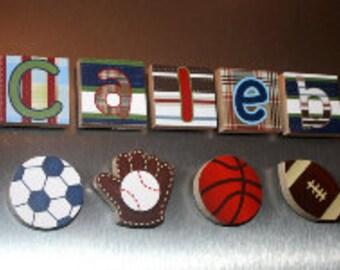 Lil MVP Sports Boys Name Magnets Fridge Bedroom Magnets NM0001