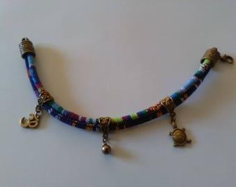 Custom designed ethnic bracelet
