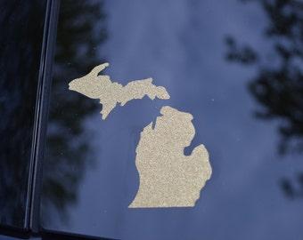 Car Decal, Car decals, Michigan decal, Mitten decal, decal, Michigan, Michigan gifts