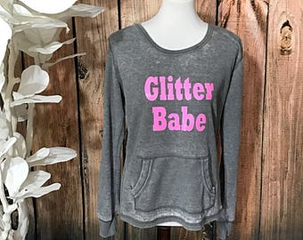 Glitter Babe Thermal Tee