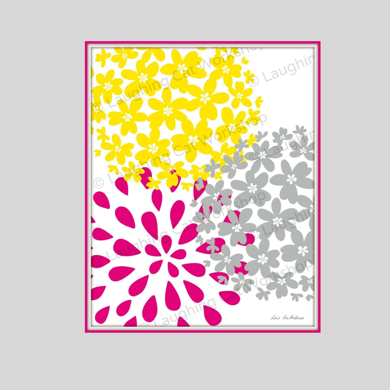Teen Girl download Flower Pink bedroom download Printable